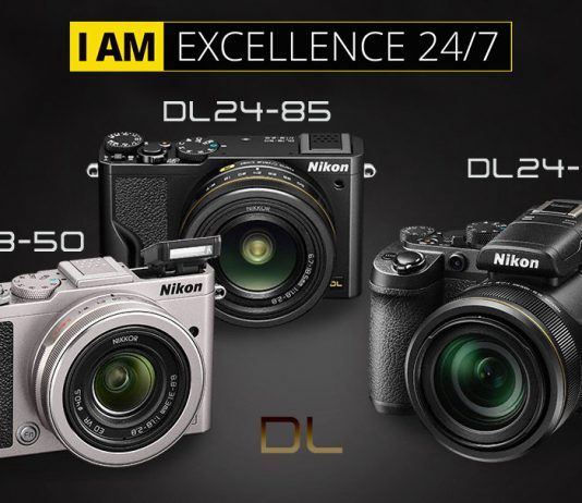 """Nikon 1"""" sensör büyüklüğüne sahip Nikon DL premium fotoğraf makinelerini duyurdu. Sabit objektiflere sahip olan kompakt fotoğraf makineleri aynasızlara eşdeğer performans sunuyor."""