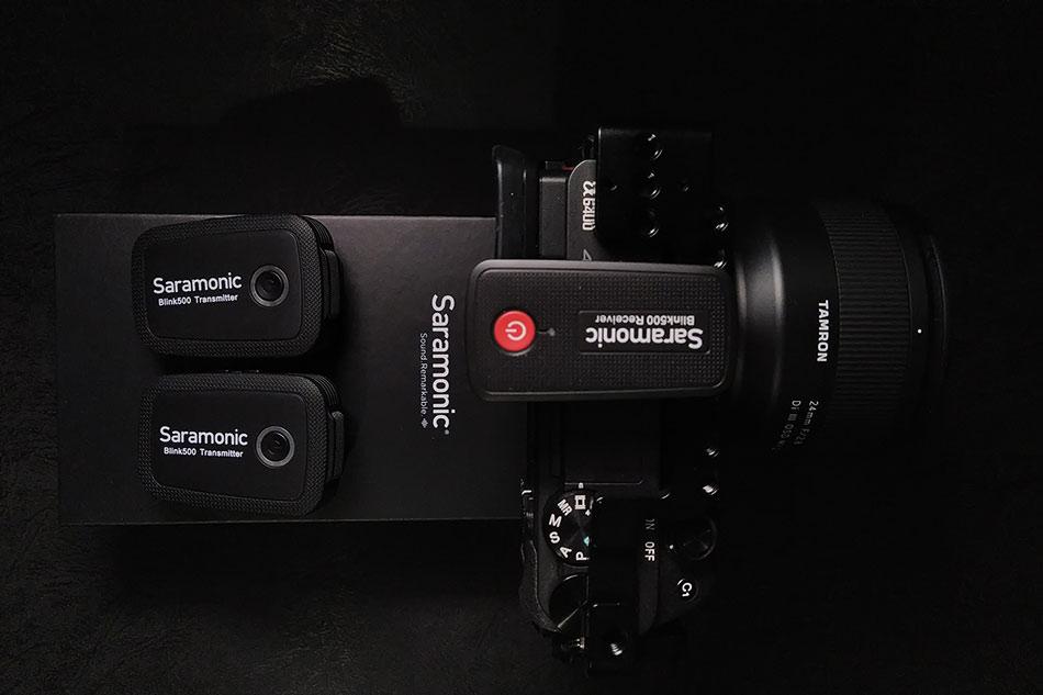 Saramonic Blink 500 B2 ve Sony A6400